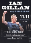 Ian Gillan sings Deep Purple with Don Airey Band купить билет