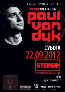 Paul van Dyk Evolution World Tour - Qiev Dance 2012