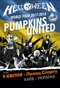 Helloween. Pumpkins United World Tour